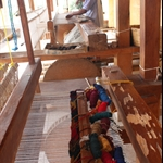 Weaving some rugs...