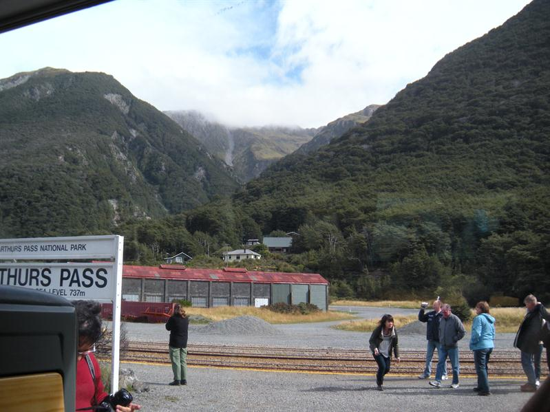 The mountains from Arthurs Pass