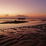 Sunrise on Sanur Beach.