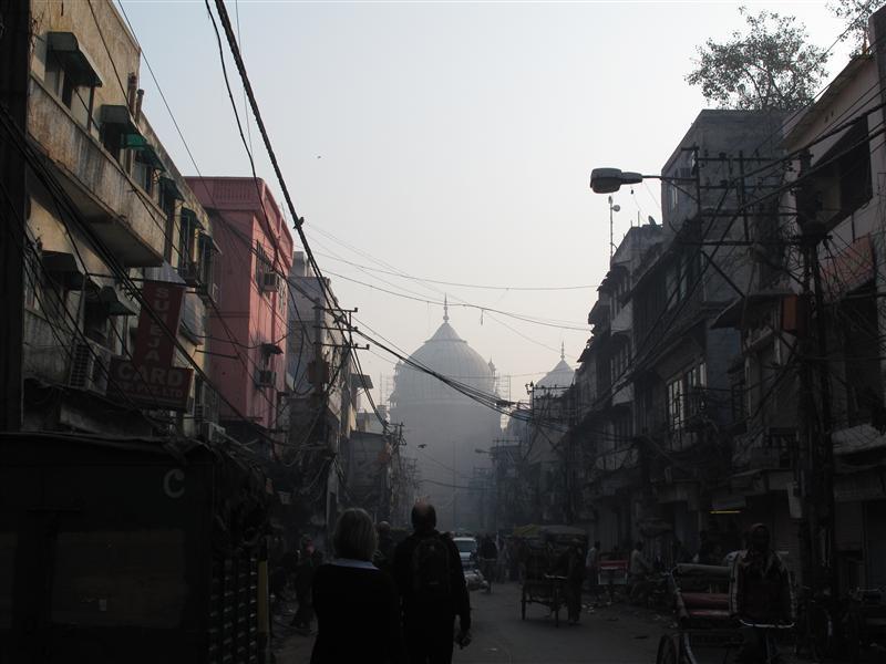 Mosque ahead