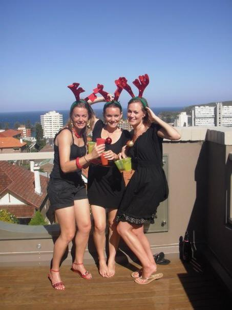 Sparks, Bea and Ailee at any AMAZING penthouse overlooking all of Sydney - awesome!!