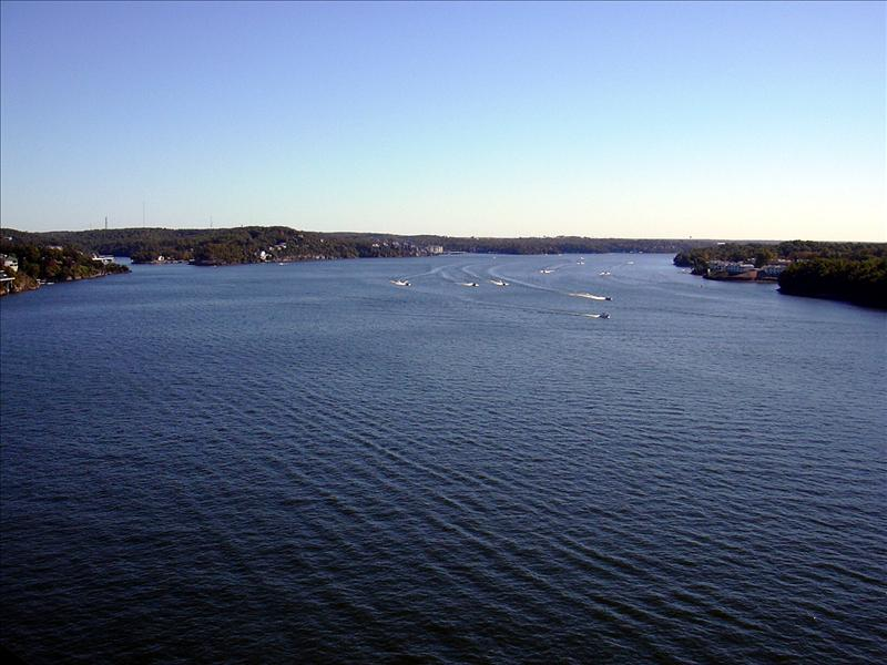 The Lake of the Ozarks in all its grandeur is 33 miles in length