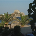View from Balcony at the Sacallis Hotel, Kefalos Bay