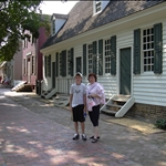 the colonial first capital of Virginia has been restored in every detail