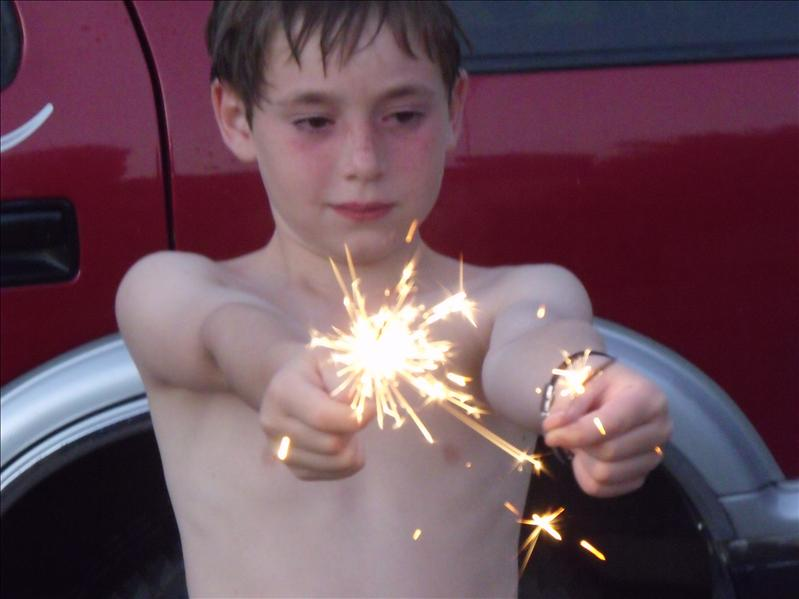 Joshua sparkling