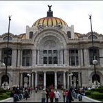 MEXICO CITY - PALACIO DE BELLAS ARTES
