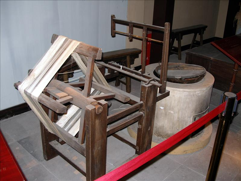 Ancient Chinese textile machine