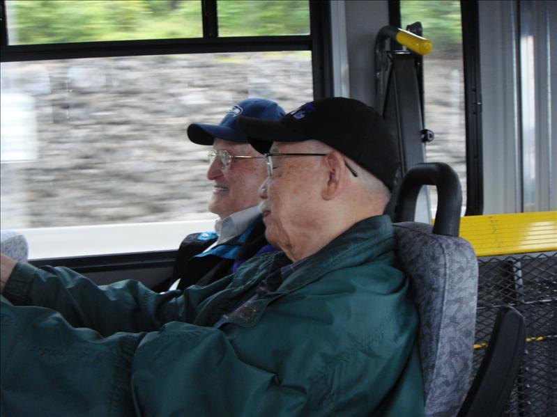 On our way to the Senior Cruise on the Argosy.
