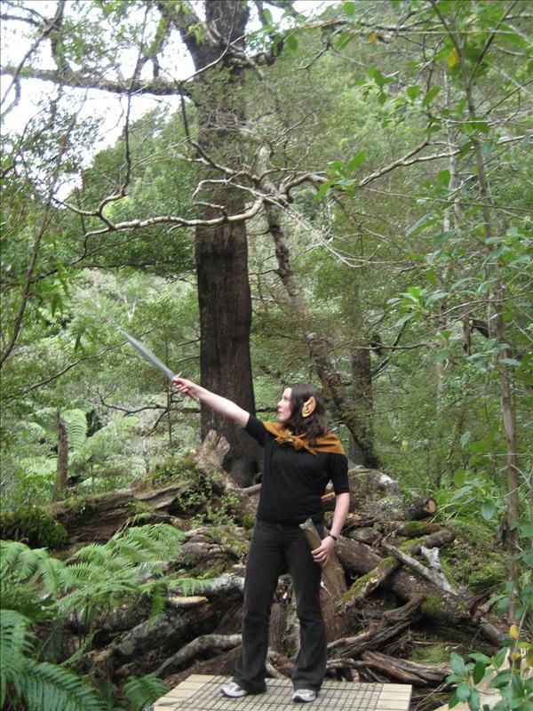 Mel at Legolas' treee