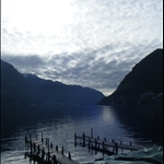 beautiful lake lugano