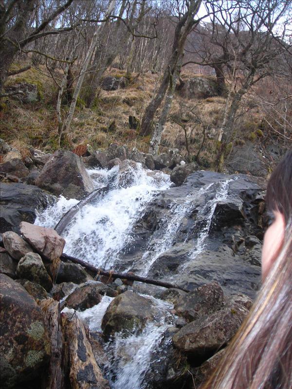 the falls @ Ben Nevis
