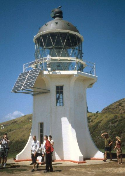 CAPE REINGA LIGHTHOUSE, NI - MAR 2004