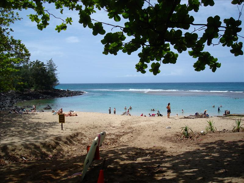 Kauai - Ke'e Beach