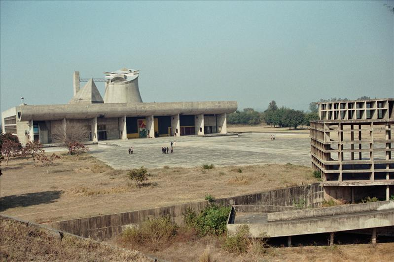 CHANDIGARH. THE ARCHITECT IS LE CORBUSIER