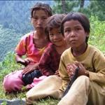 kids in the Himayalas