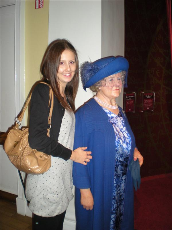 The Queen Mother, Madame Tussaude's Wax Museum - 20th May