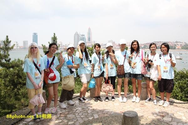 全部香港的女團員 @ 小青島