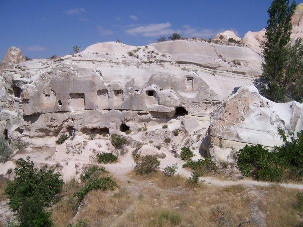 THE AMAZING TUFA LANDSCAPE OF RED ROSE VALLEY, CAPPADOCIA