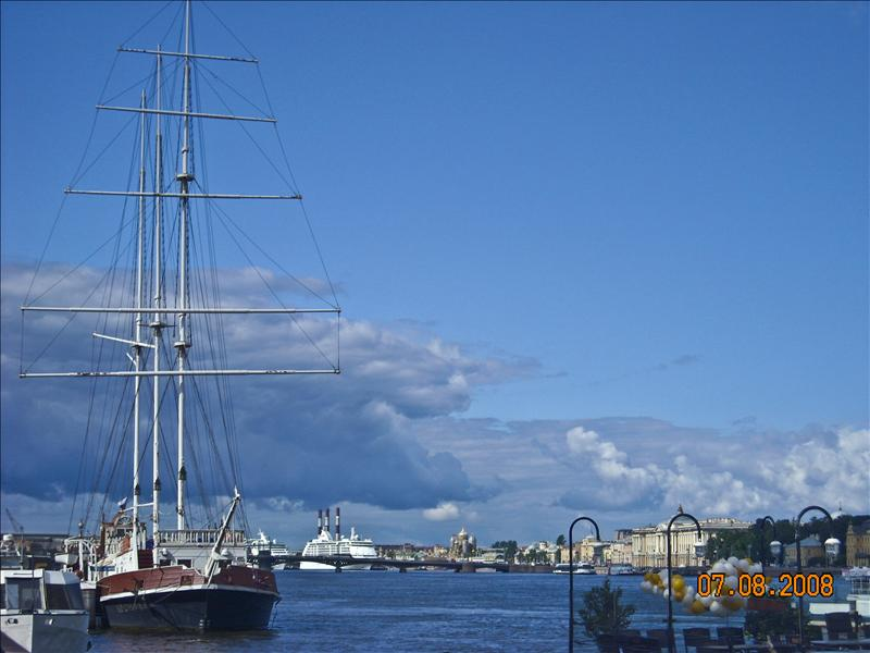 Along the Neva River