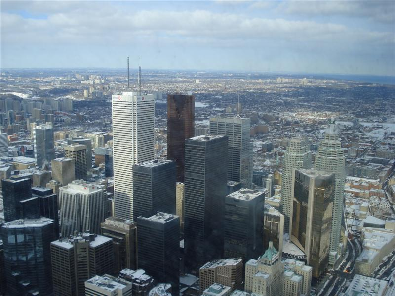 Toronto seen from CN Tower.9