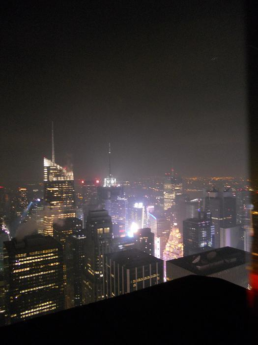 New York - View from the top of The Rockefeller Centre