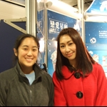 Me with HK TVB actress Annie Liu