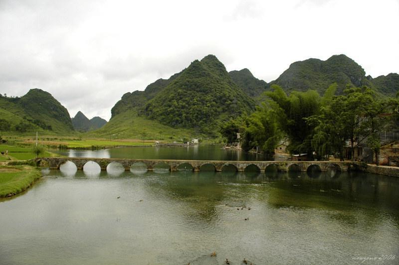 15-hole Stone Arch Bridge in the Qing Dynasty清代十五孔古橋