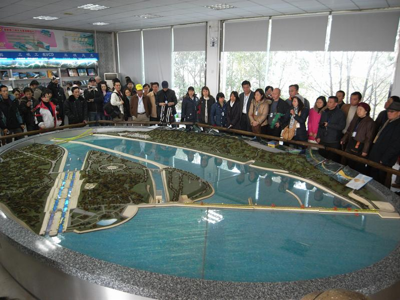 three gorges project model
