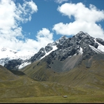 Bus ride from Puno to Cusco - right through the Andes!