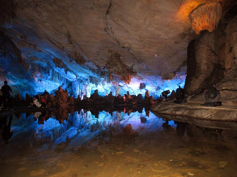 """Reed Flute Cave "" ( 蘆 笛 岩 )"
