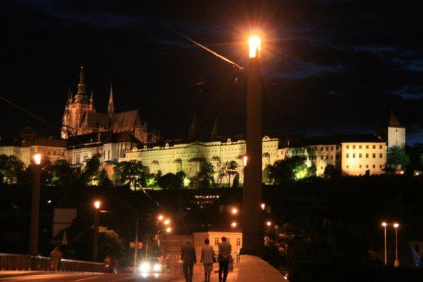 Prague Castle @ night.