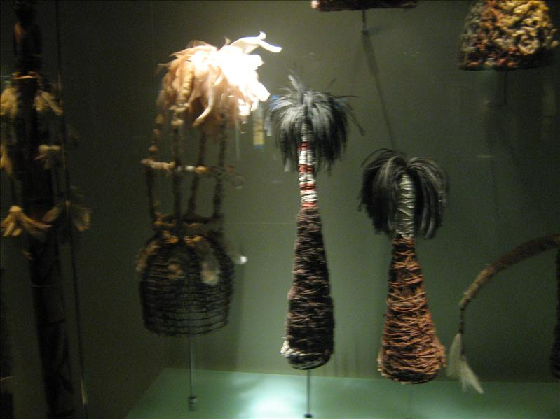 Aboriginal Exibit in Museum