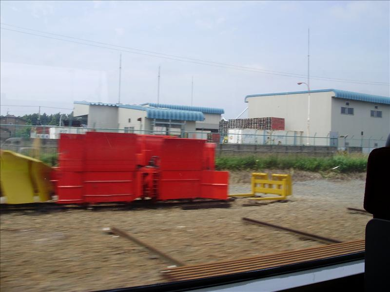 札幌火車窗外3
