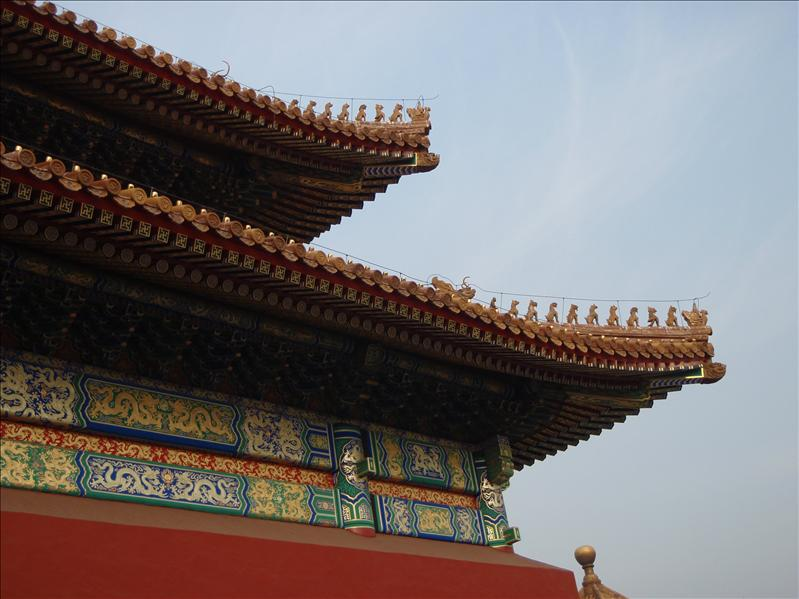 forbidden palace roof