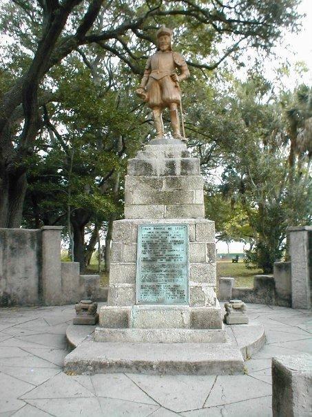 Juan Ponce De Leon, the Fountain of Youth.