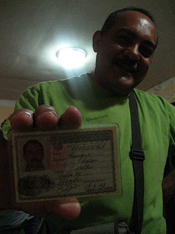 ...Cubans are always busting out there ID. Here this guy is trying to prove to me that he is part Chinese.