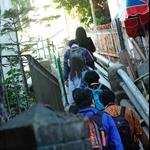 排頭村村尾樓梯上山