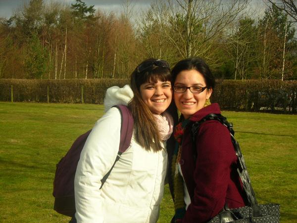 Victoria and I