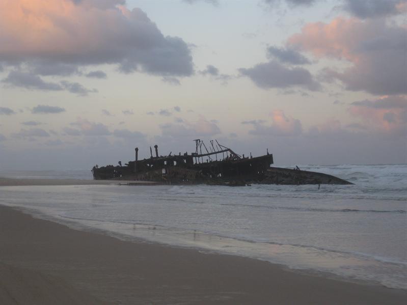 Mareno Wreck on Fraser