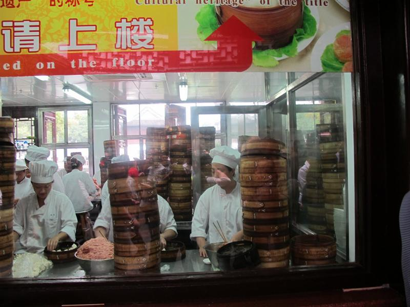 well known dumpling shop