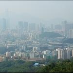 俯瞰九龍半島景色unobstructed vistas of Kowloon Peninsula