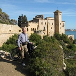 Blue sky again for cycling from Tarragona...