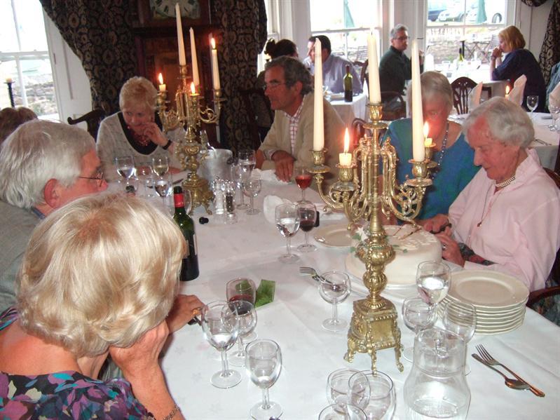 Porlock Weir - Saturday Evening - The Big Celebration at the Anchor