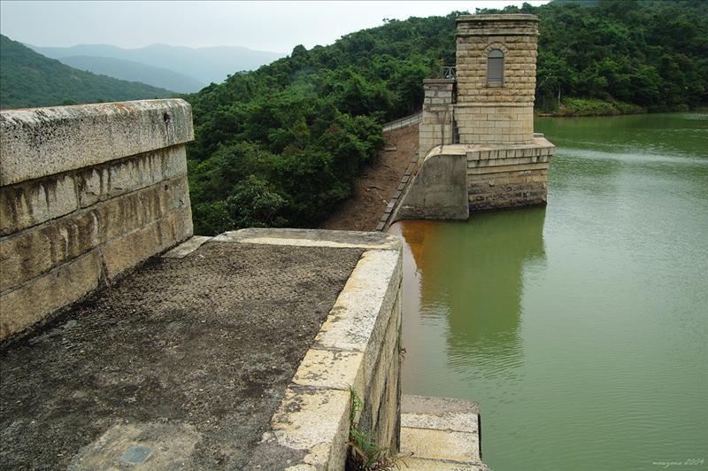大潭中水塘水壩 Tai Tam Intermediate Reservoir Dam 1904 - 1907