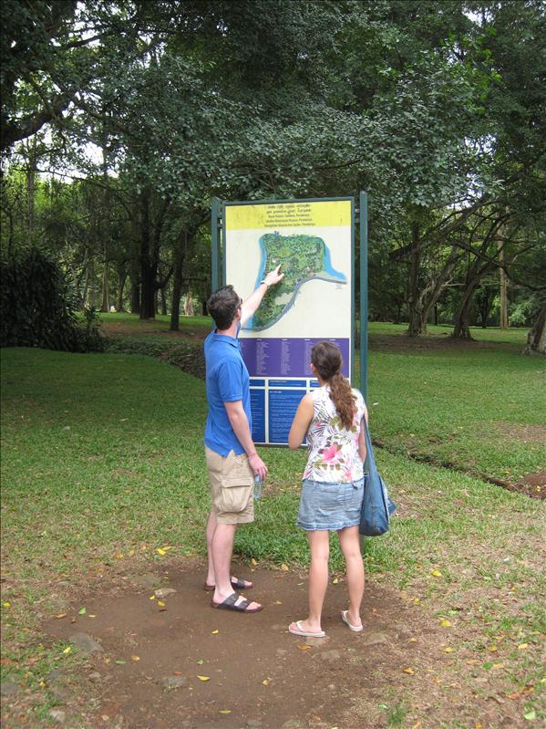 Kandian Botanical gardens