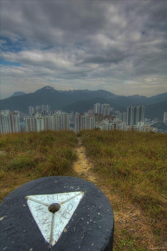 玉桂山望奇力山