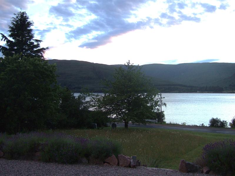View from Huntingtower Lodge, Druimarbin, Fort William