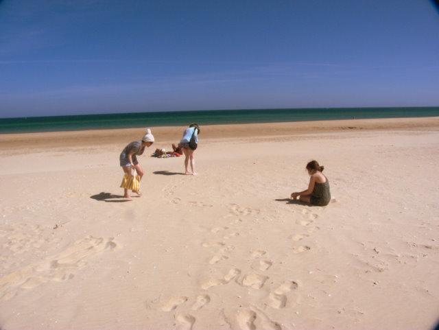 @ beautiful Meia Praia beach