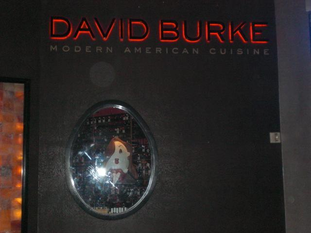 David Burke has a thing for eggs....