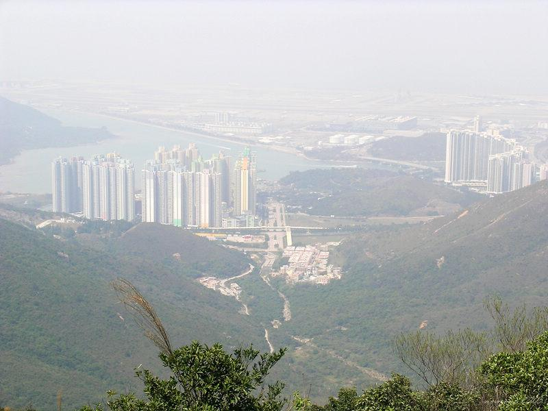 View of Tung Chung New Town